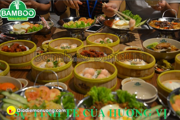 Bamboo Dimsum - Nowzone Quận 1 - Tầng 4