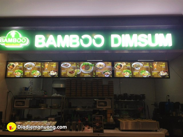 Bamboo Dimsum - Cresent Mall Quận 7 - Tầng 3